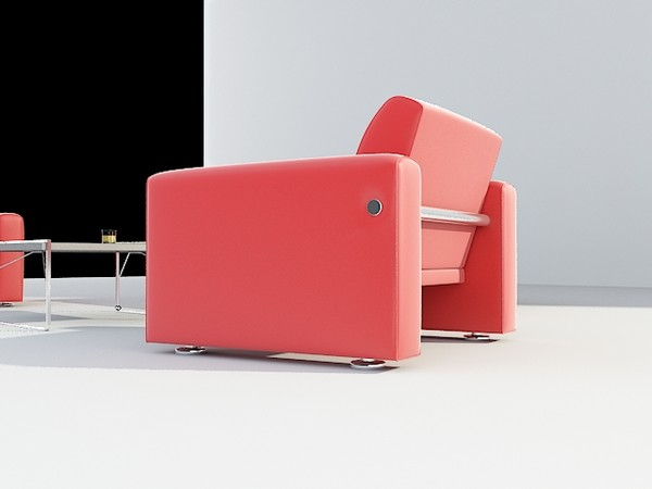 3d sofa set model - sofa set... by mimarburak2