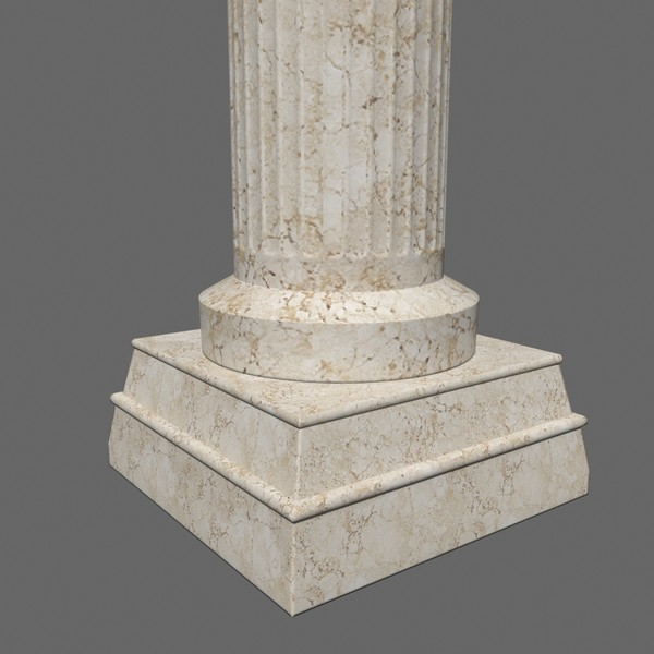 antiquity pillar 3d max - Pillar 2... by Tschirner