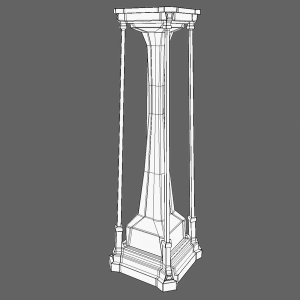 3d freestyle pillar - Pillar 15... by Tschirner