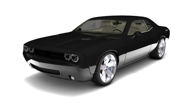 dodge challenger 2010 c4d free - Dodge Challenger 2010... by Gu4n4c0
