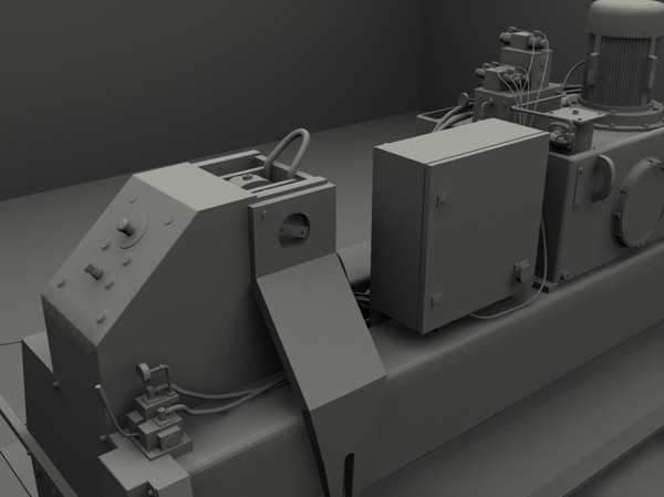 press factory 3d model - Press... by GurnisLV