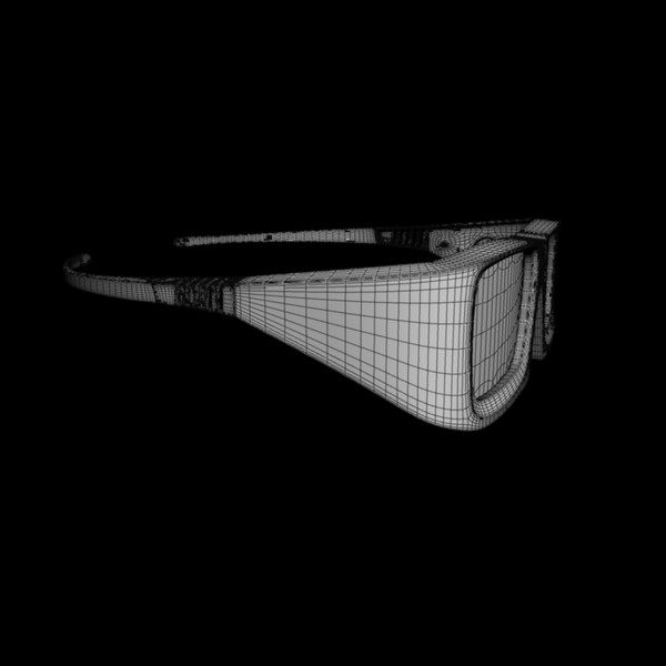 expand glasses 3d max - Expand 3D glasses... by desmonster