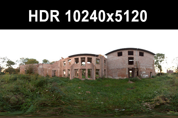 5x Ruin HDR Collection sIBL