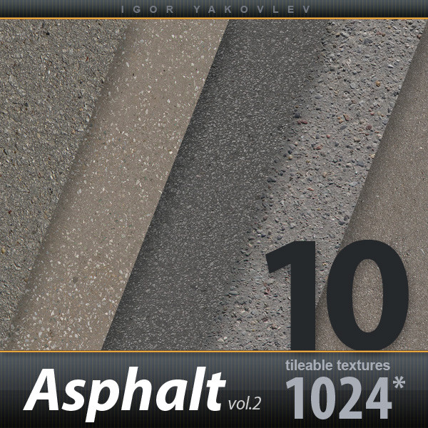 Asphalt Textures vol.2
