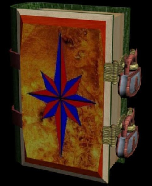 3d model magic book - Magic Book... by MUROGUE