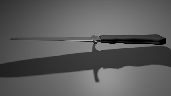 3d model of knife combat usmc - USMC Combat Knife... by KrSnelly0104