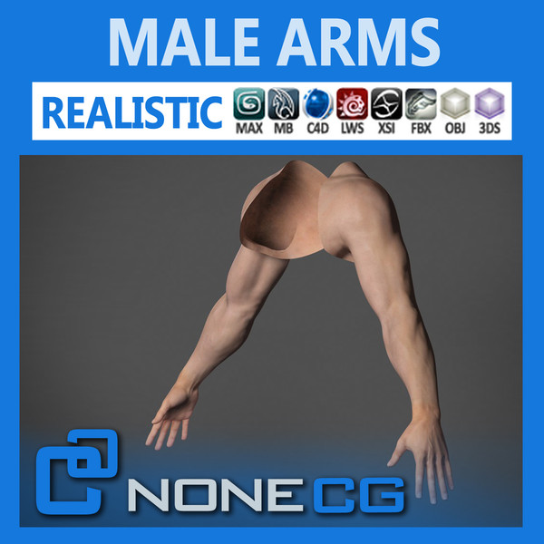 Adult Male Arms and Hands