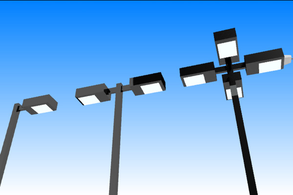 3d model street lights - Street Lights... by stoplight96