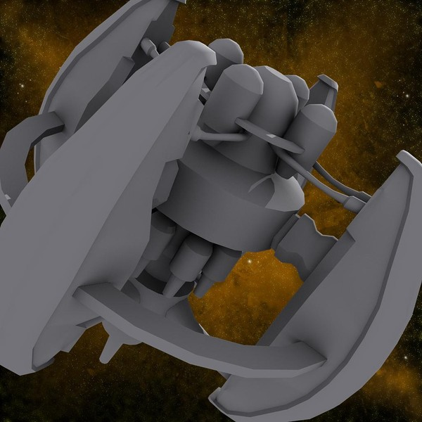 3d space station model - Spaceship_Station_5... by Angryfly