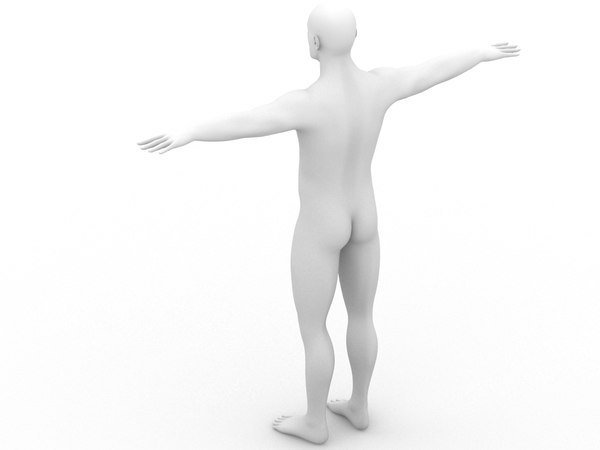 body 3d model - Male 3d Model... by boogie66