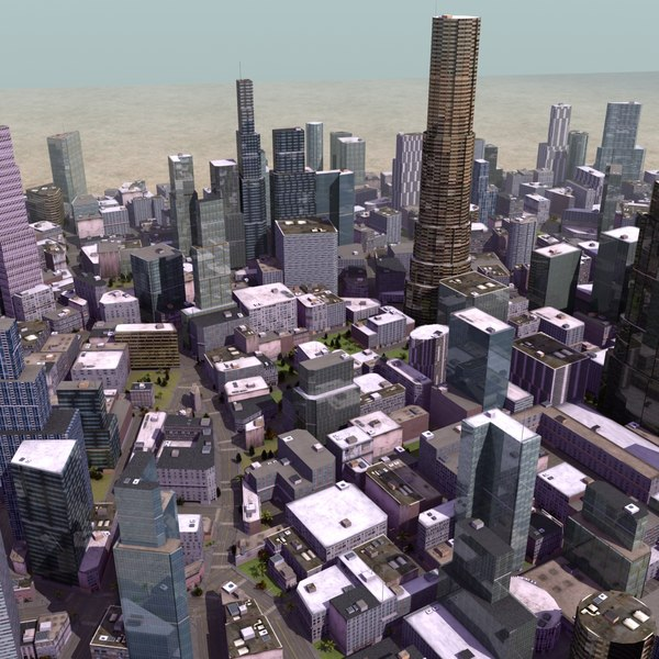 3d parametrically building level model - RT City Starter... by ES3DStudios