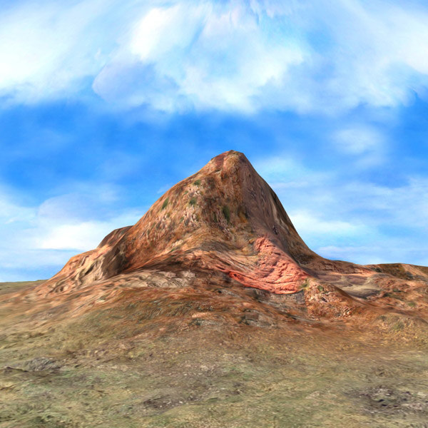 3ds max terrain mountain landscape - Mountain Terrain... by 3D_Multimedia