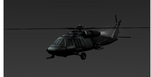 blackhawk helicopter blend free - Blackhawk Variant... by KuhnCD4