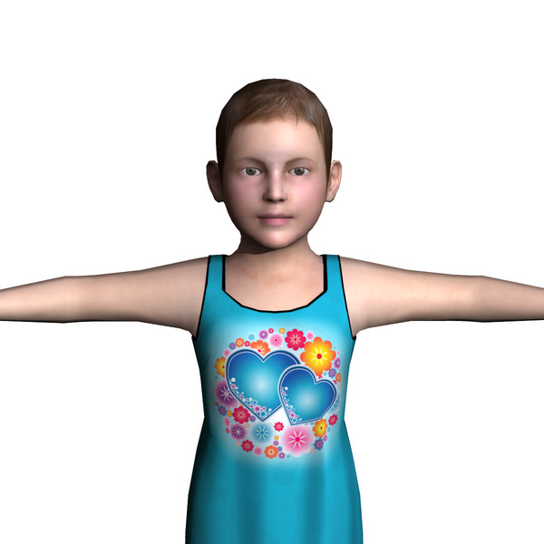 maya child female 01 - Child Female 01... by ignisfatuus