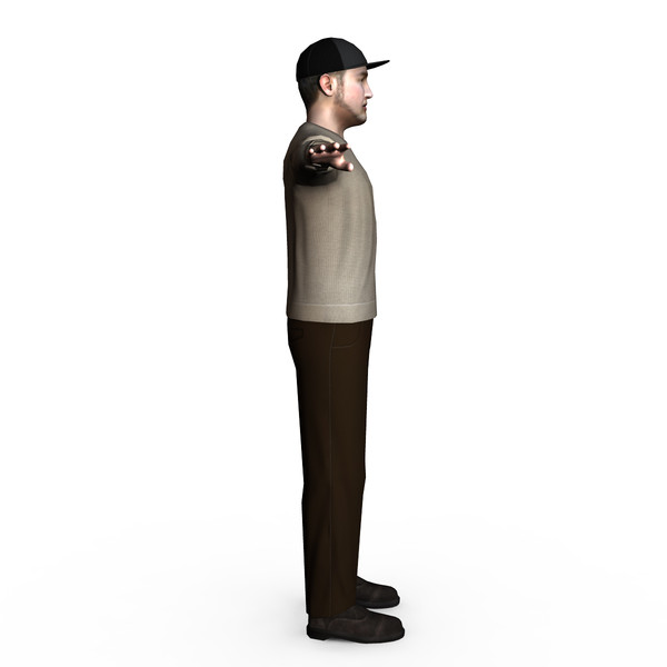 3d model of casual male 03 - Casual Male 03... by ignisfatuus