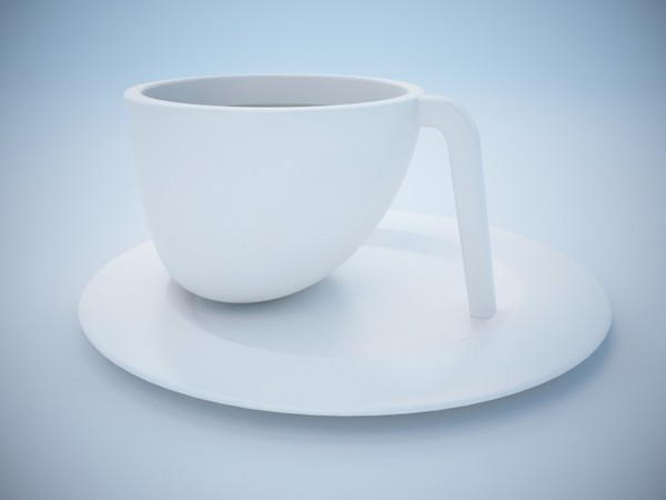 ego teacup iittala 3d max - Teacup Iittala Ego... by BinaryRay