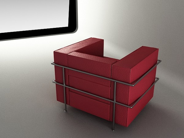 sofa 3d model - sofa... by mimarburak2