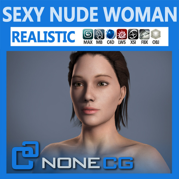 3d realistic female model - Adult Female Angie... by NONECG
