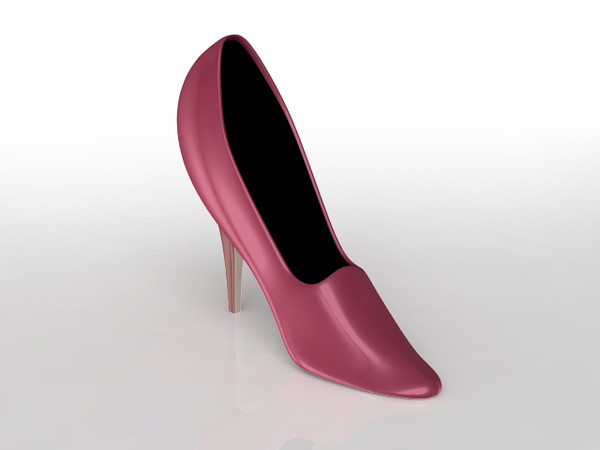3d woman s shoe - Woman's Shoe... by sweiry_tv
