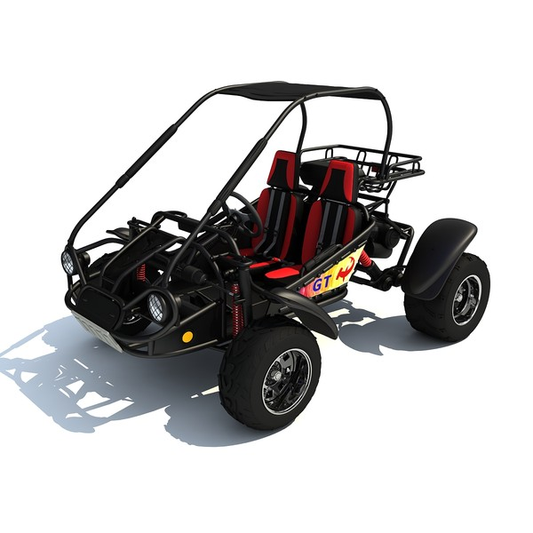 3d model road buggy hammerhead gt - Off Road Buggy HammerHead GT 150... by Gandoza