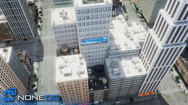 3d new york city 4 - NYC - 4 Blocks - 37 Buildings... by NONECG
