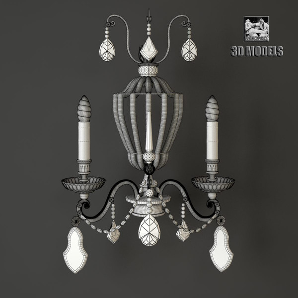 3d sconce banci model - Sconce banci... by kupfer