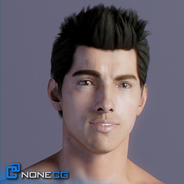 maya realistic male - Adult Male Tom... by NONECG