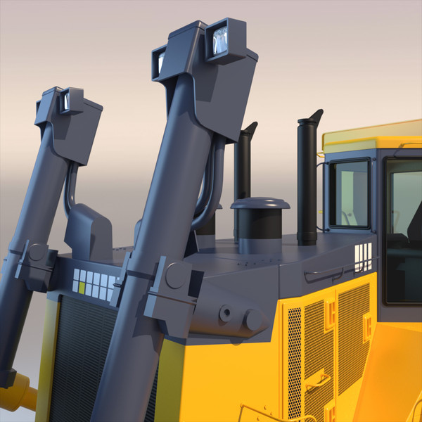 bulldozer dozer 3d model - Bulldozer 2012... by ArqArt3D
