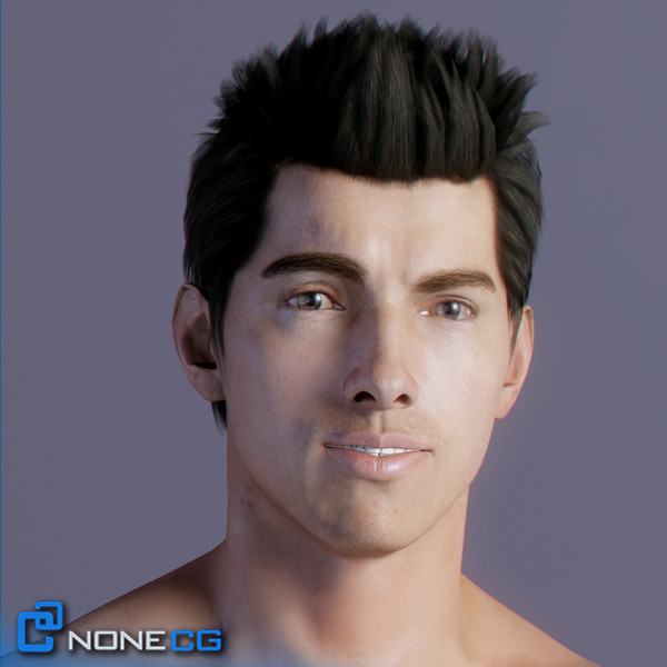 realistic males female rigged 3d model - Pack - Adult Males and Female Rigged... by NONECG