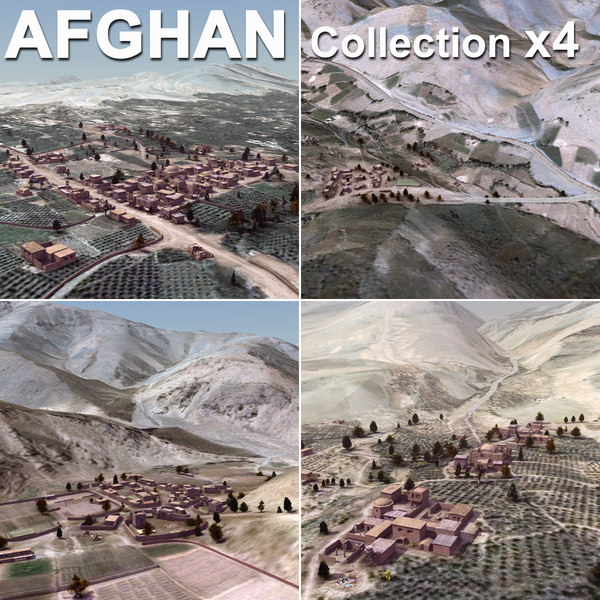 Afghanistan Urban Collection 3D Models