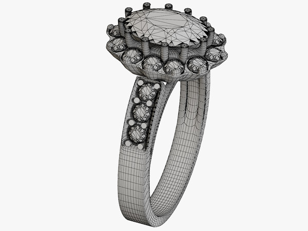3ds max ring gems - Engagement Ring... by ngluvakov