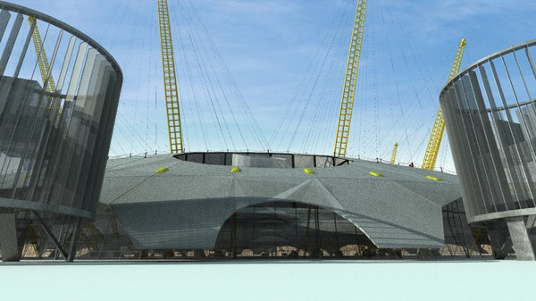 o2 arena millennium dome max - Millennium Dome, 02 Arena, London... by renderglobals