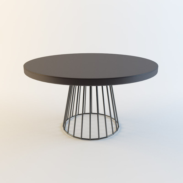 3d model of minotti table - Minotti wired dining table... by katunina