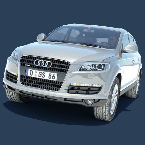 audi q7 salt flats max - Audi Q7 On Salt Flats... by gs.models