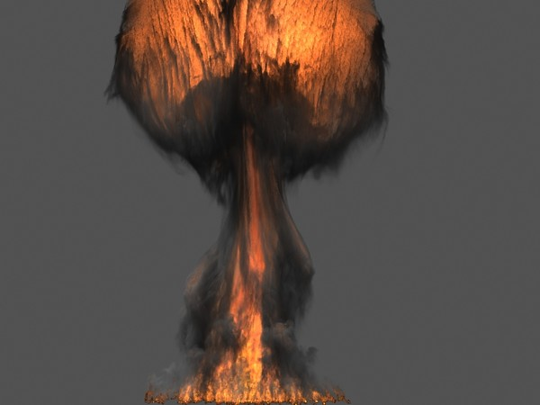 3d model fumefx atom bomb fx - FumeFx Basic Pack... by Insect.Digital.Alchemy