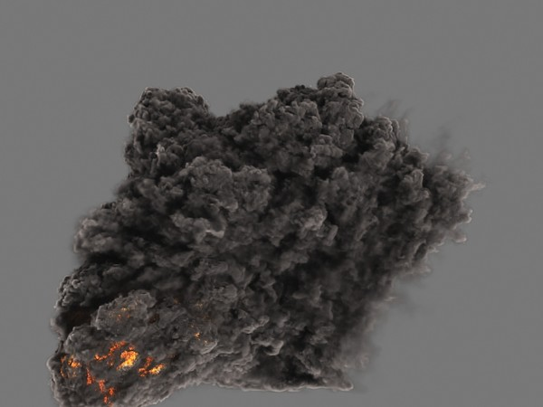 heavy smoke fumefx fx 3d max - FumeFx HeavySmoke... by Insect.Digital.Alchemy