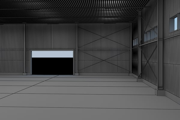 3d warehouse interiors - Warehouse with interior... by Branoa