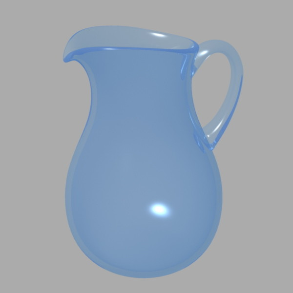 jug 3d model - Jug... by goktugg