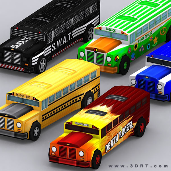 3d 0 road rush model - 3DRT-Road-rush-Xtreme-Buses.ver.1.0.zip... by 3DRT