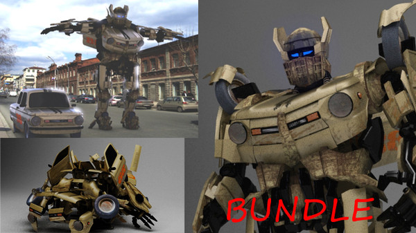 max rigged transformer zaz - Bundle - Zaz 968M Transformer... by pufik1234