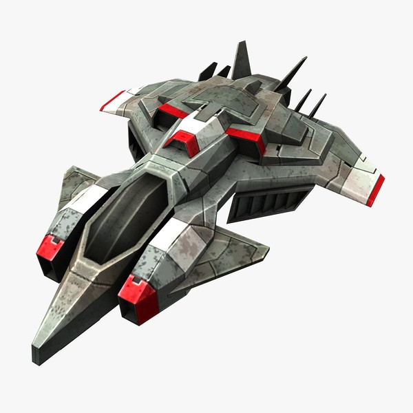 ready games real-time 3d max - Space_Frigate_2... by Angryfly