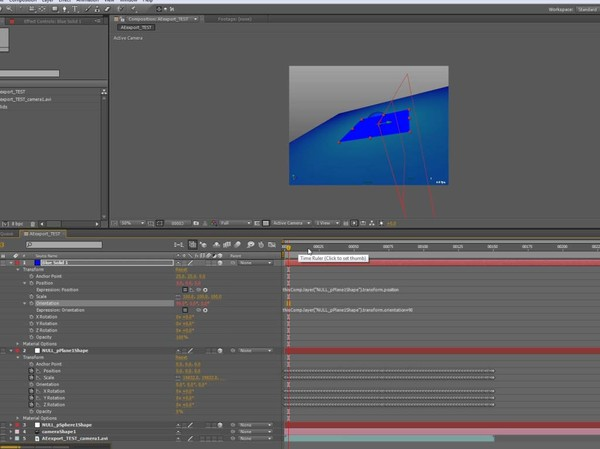 Maya export to After effects