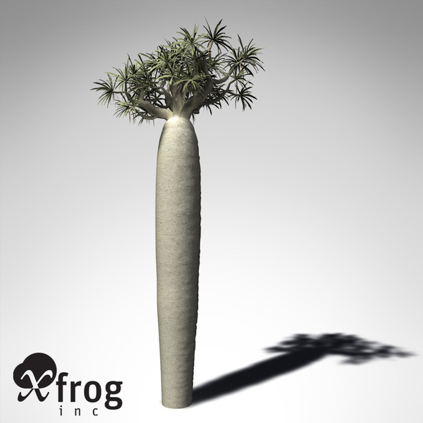 3d xfrogplants large bottle tree - XfrogPlants Large Bottle Tree... by xfrog