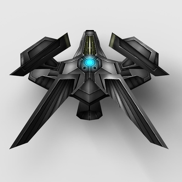 3d ship 3 model - Ship_3... by Angryfly