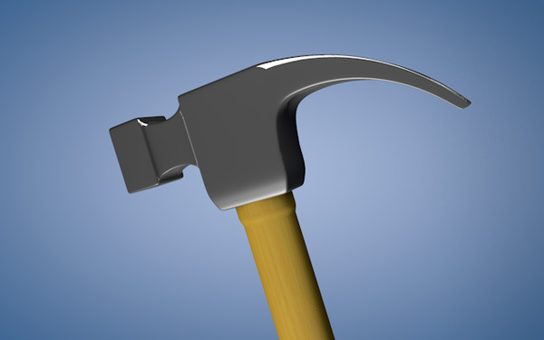 free c4d model hammer - Hammer... by Moose Mukhtar