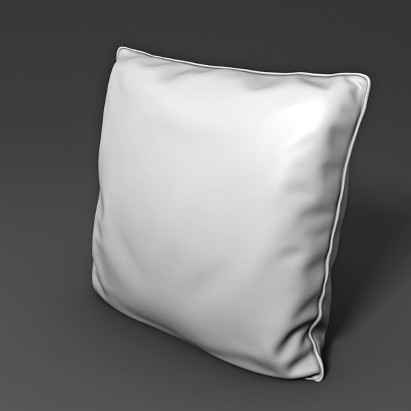 pillow interior 3d model - Pillow 02... by btbt