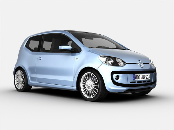 Volkswagen Up (2013) 3D Models