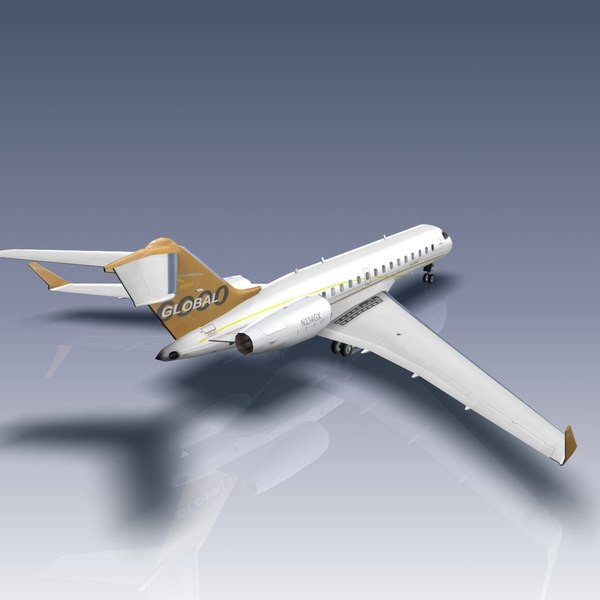 3ds max global 6000 bombardier - Bombardier Global 6000... by Bounding Box