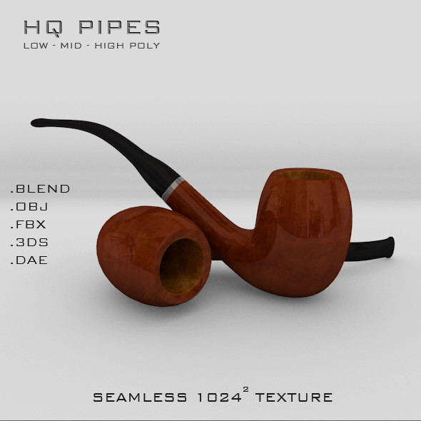 3ds pipe - Smokers Pipe... by robstranges
