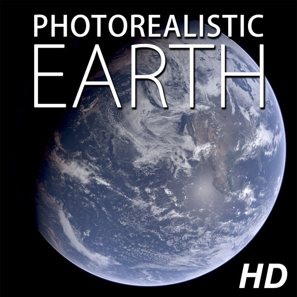 Photorealistic Earth 3D Models